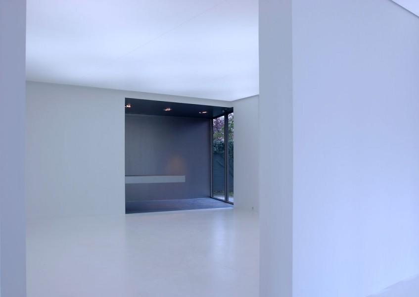 architectuur interieur Thomas Kemme galerie wit contrast