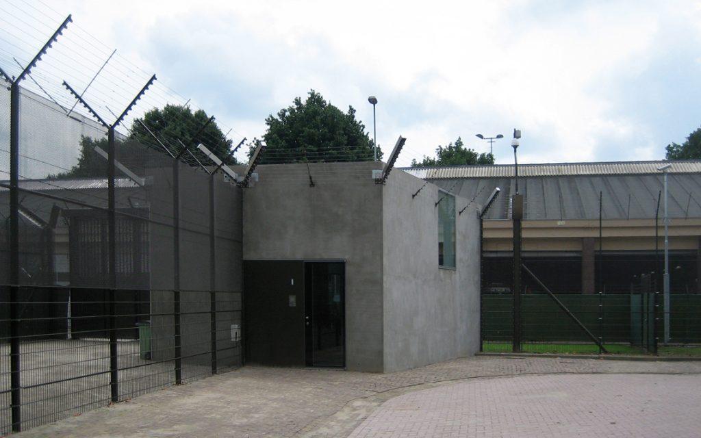 portiersloge Penitentiaire Inrichting architectuur Thomas Kemme