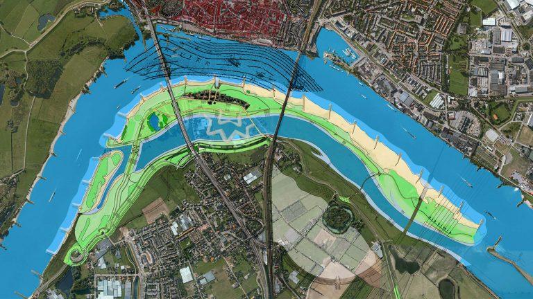 stedenbouwkundig plan Nijmegen prijsvraag stadseiland
