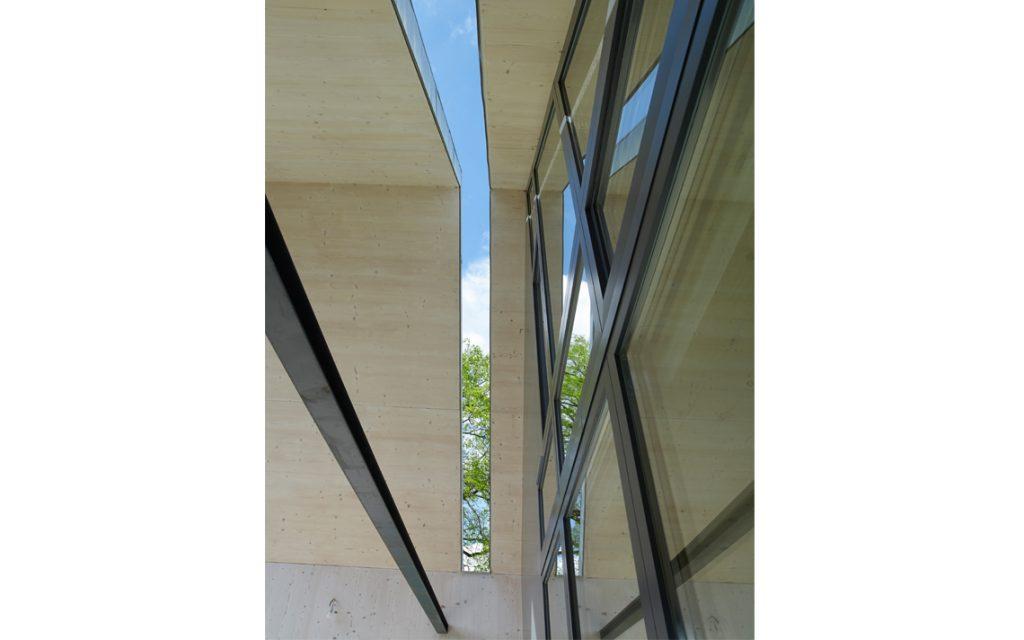 architectuur veranda detail constructie