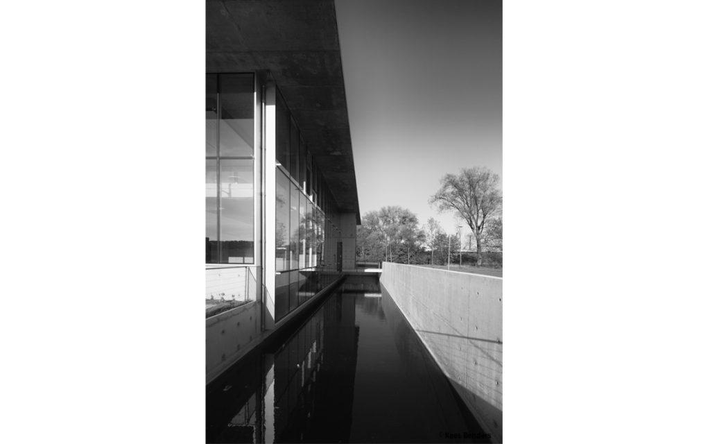 architectuur gebouw gevel glas beton