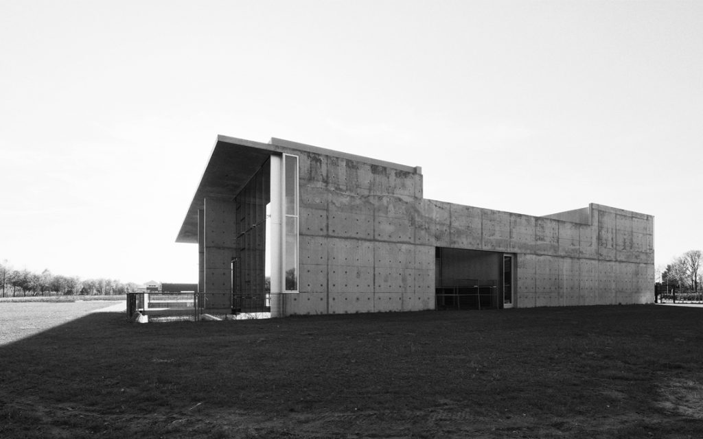 architectuur beton zijgevel prefab modern