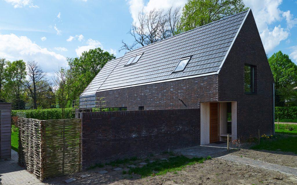architectuur woning modern baksteen passief bouwen