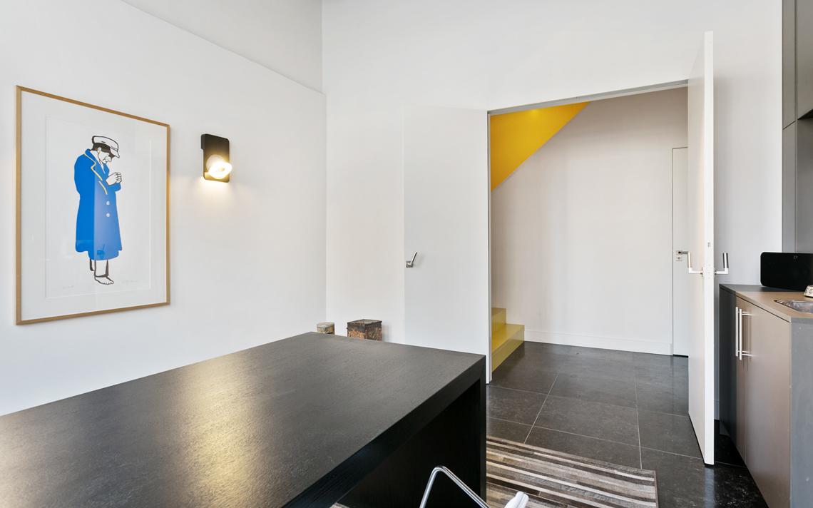 kantoor herbestemming pakhuis tot loftwoning door architect Thomas Kemme