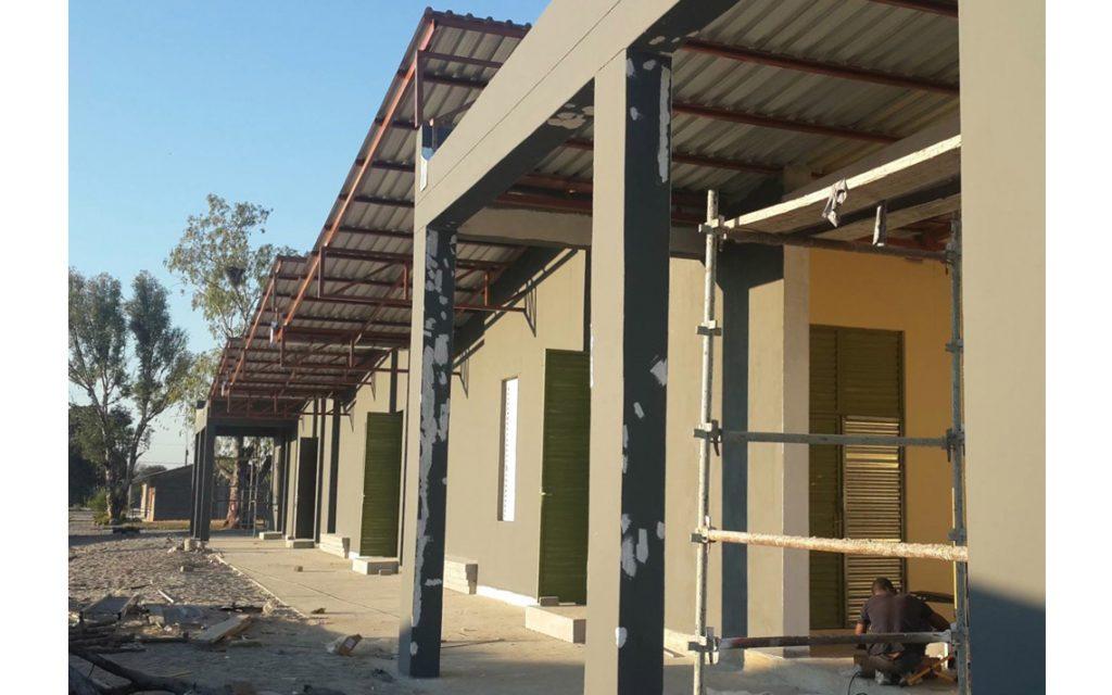 tuingevel school Namibië