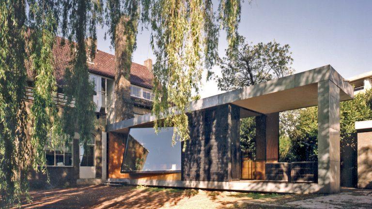 architectuur tandarts praktijk uitbreiding raam modern