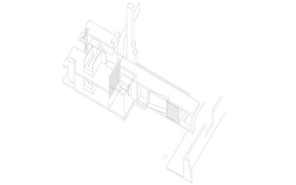 architectuur tekening isometrie lijn thomas kemme