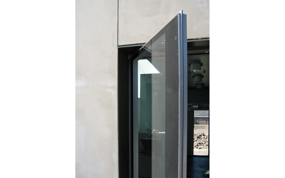 architectuur detail deur glas veiligheid thomas kemme