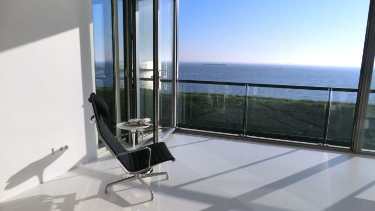 architectuur uitzicht interieur zee blauw lucht