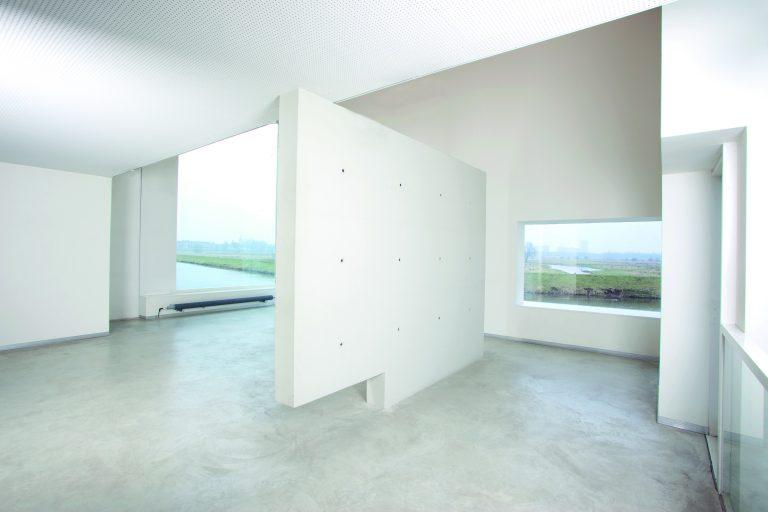 galerie architectuur beton uitzicht licht Thomas Kemme