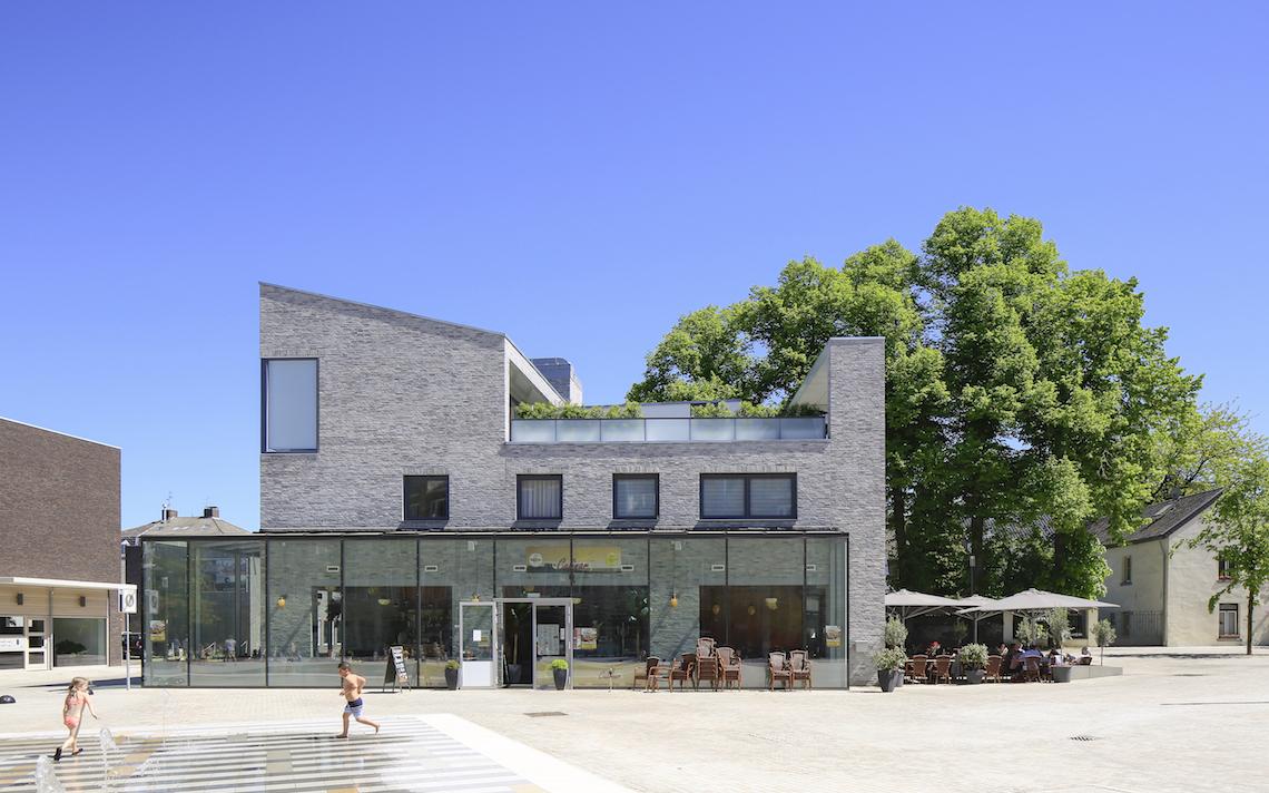 stedenbouwkundig ingreep Julianaplein Vaals serre horeca