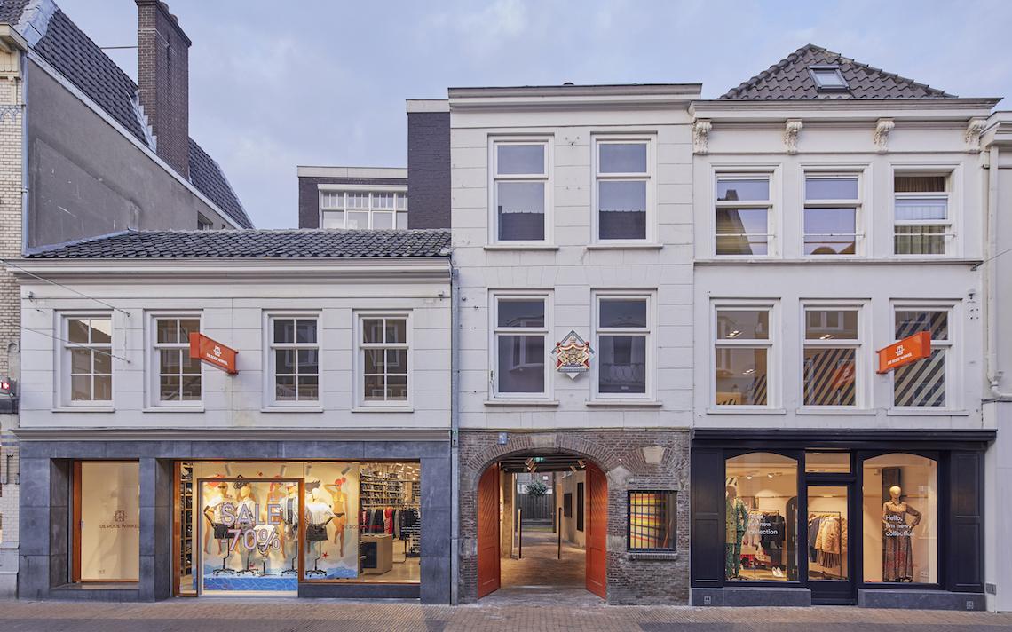 de rode winkel utrecht straatbeeld