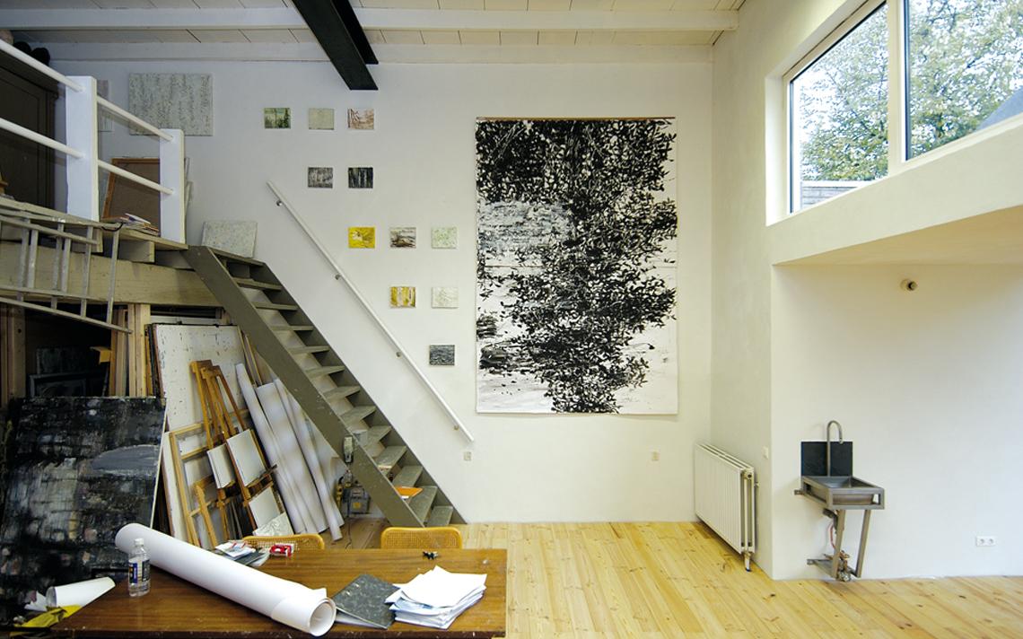 Thomas Kemme atelier interieur
