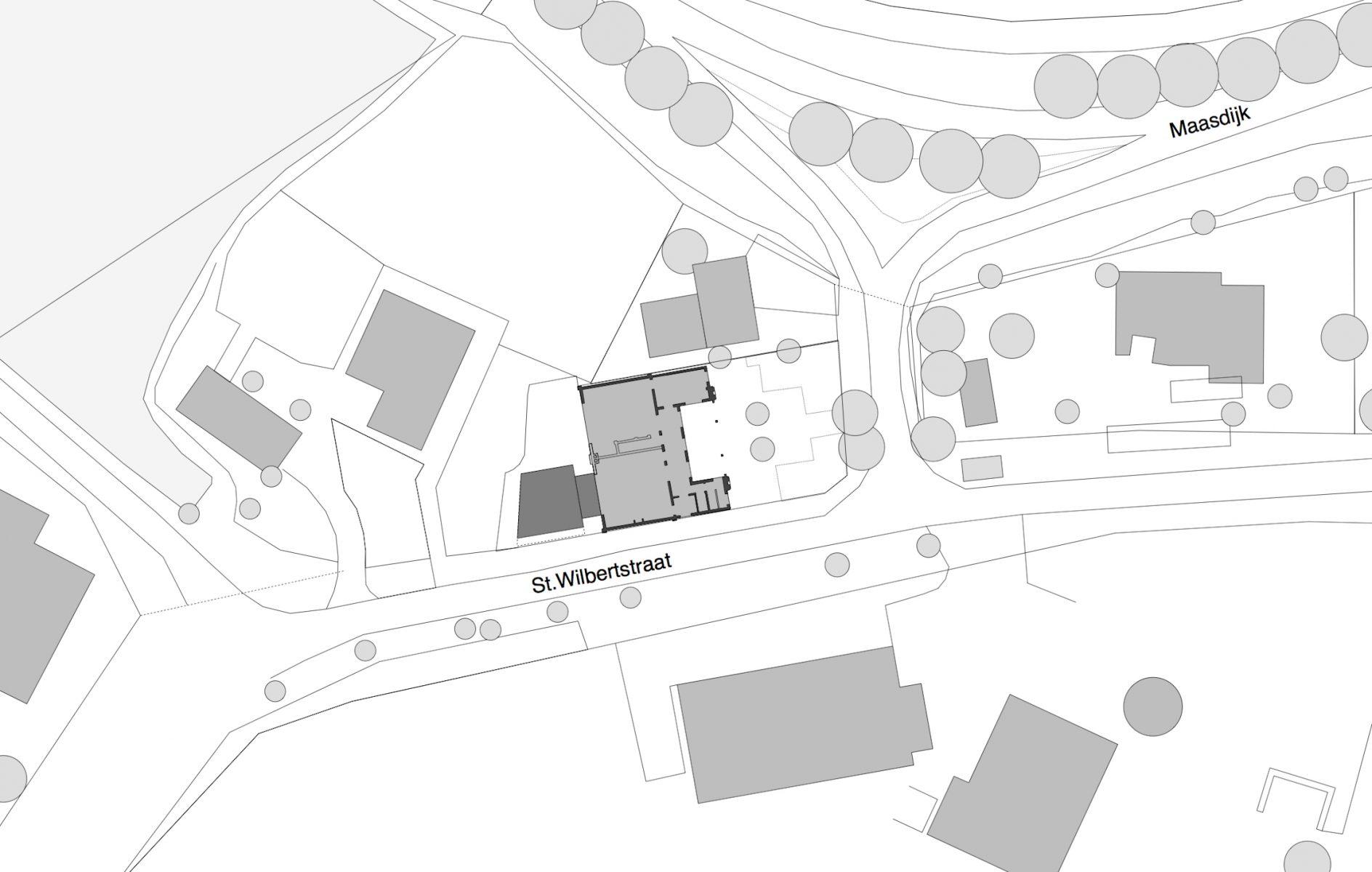 Thomas Kemme plattegrond atelier