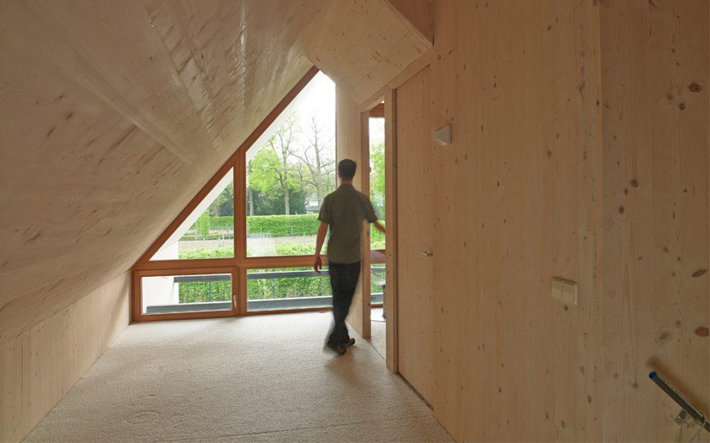 architectuur interieur woning hout materiaal Thomas Kemme