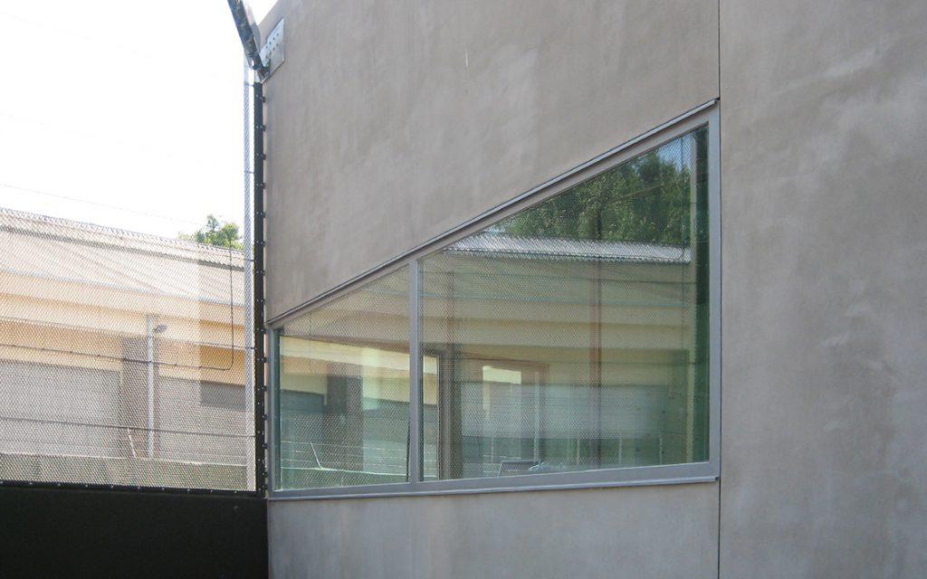 architectuur raam detail beton minimalistisch