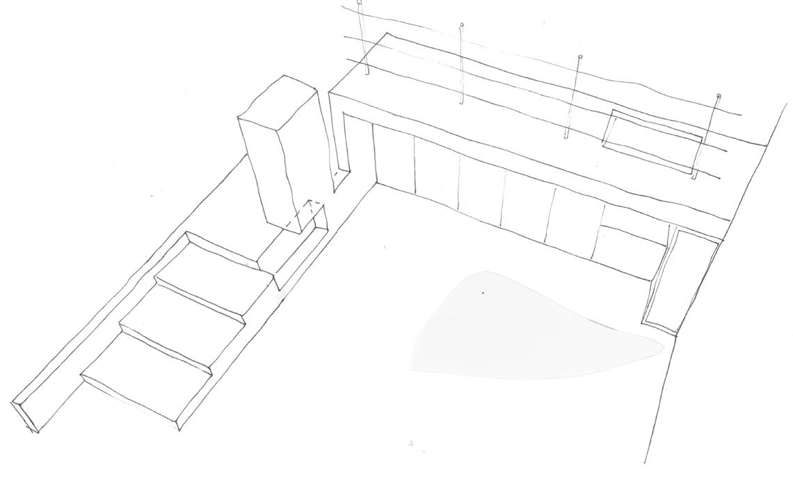 architectuur schets rijksmonument Granpre Moliere