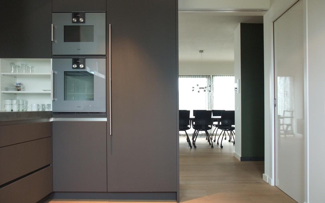 architectuur interieur keuken doorzicht design