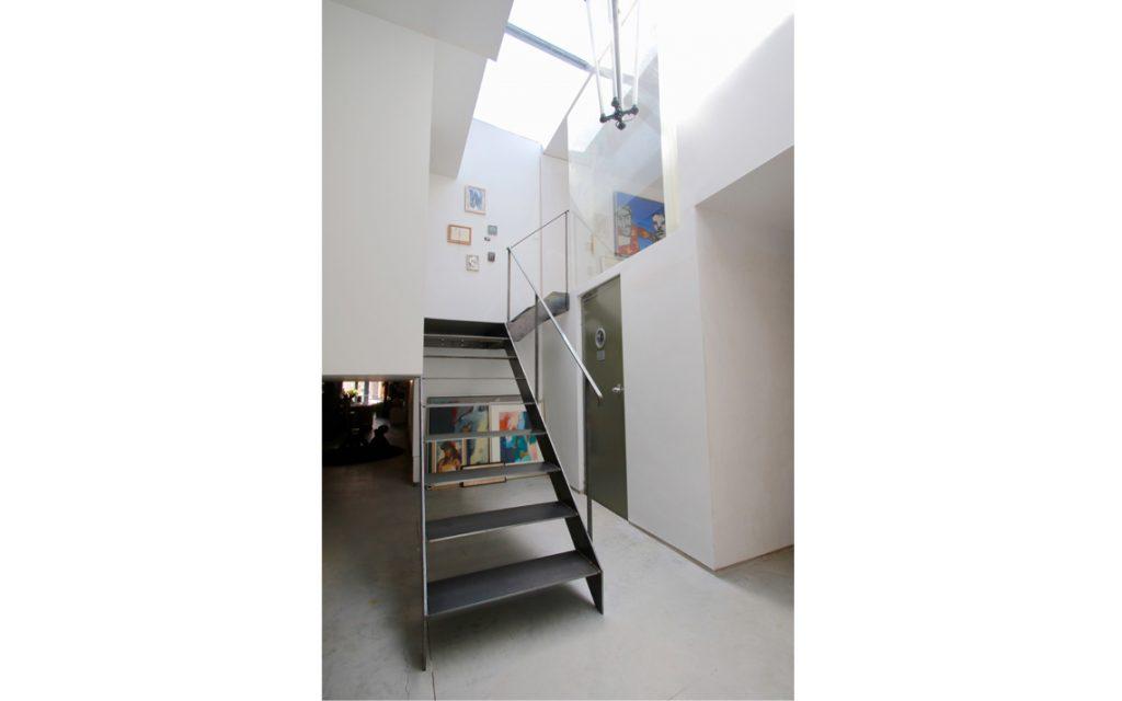 architectuur staal trap verdieping thomas kemme
