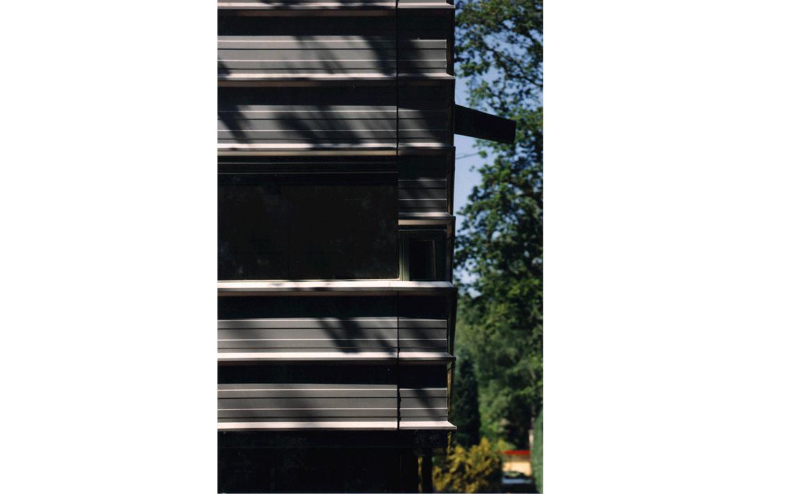 architectuur gevel detail metaal bekleding