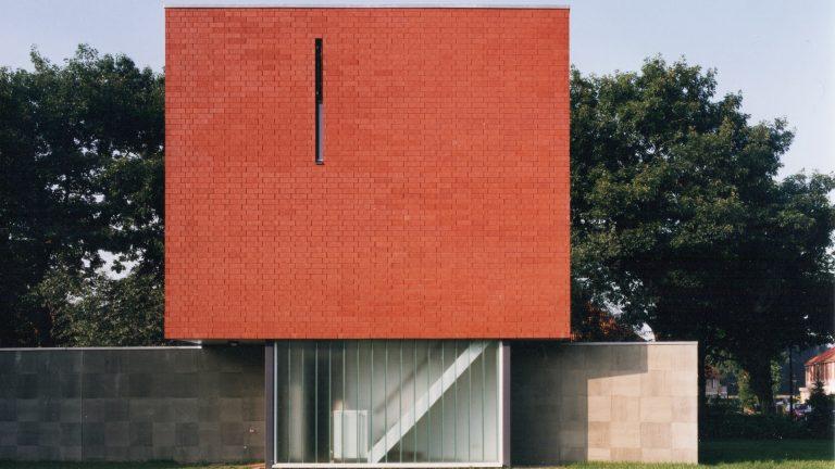 architectuur baksteen rood vooraanzicht thomas kemme