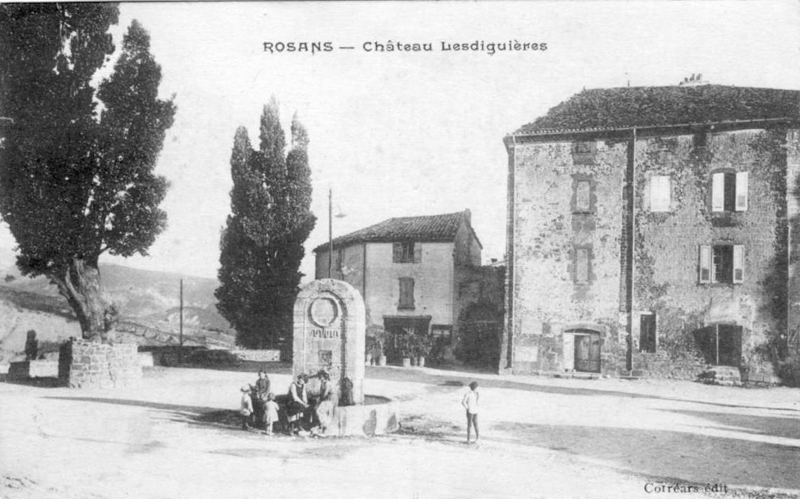 foto Chateau Lesdiguiere ancienne