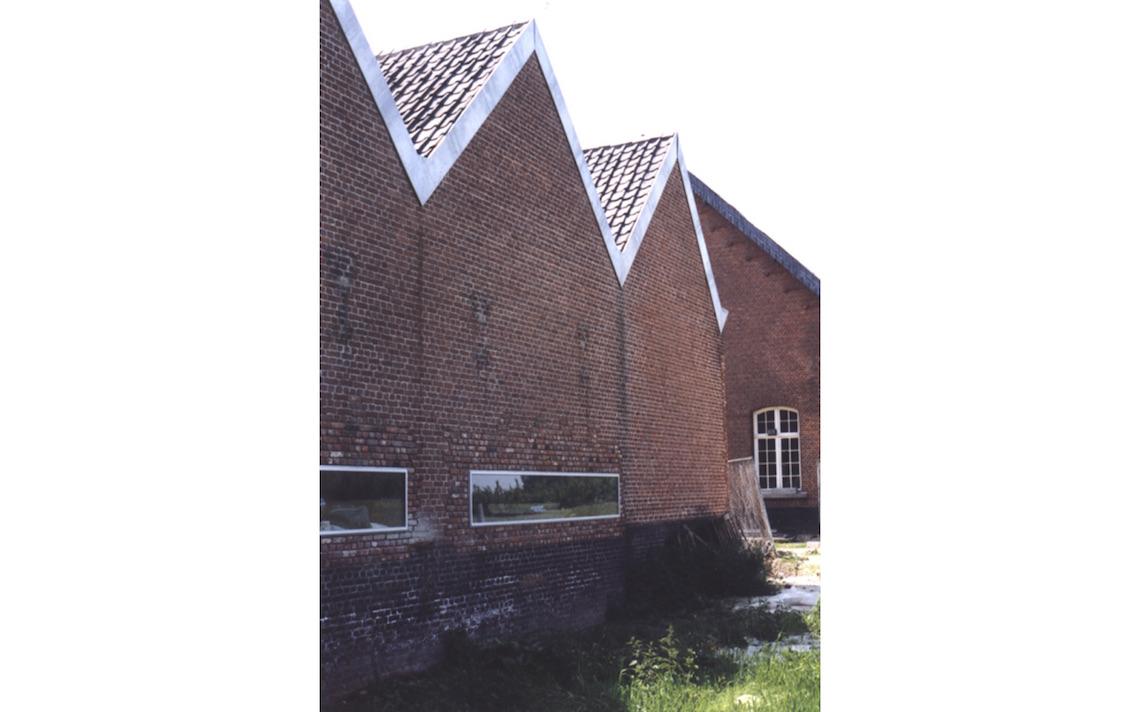 domein Rekem achter zijde museum architect