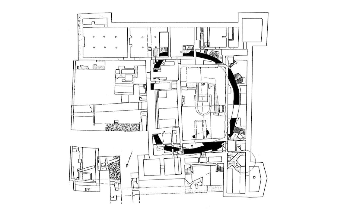 domein Rekem poortgebouw plattegrond architect