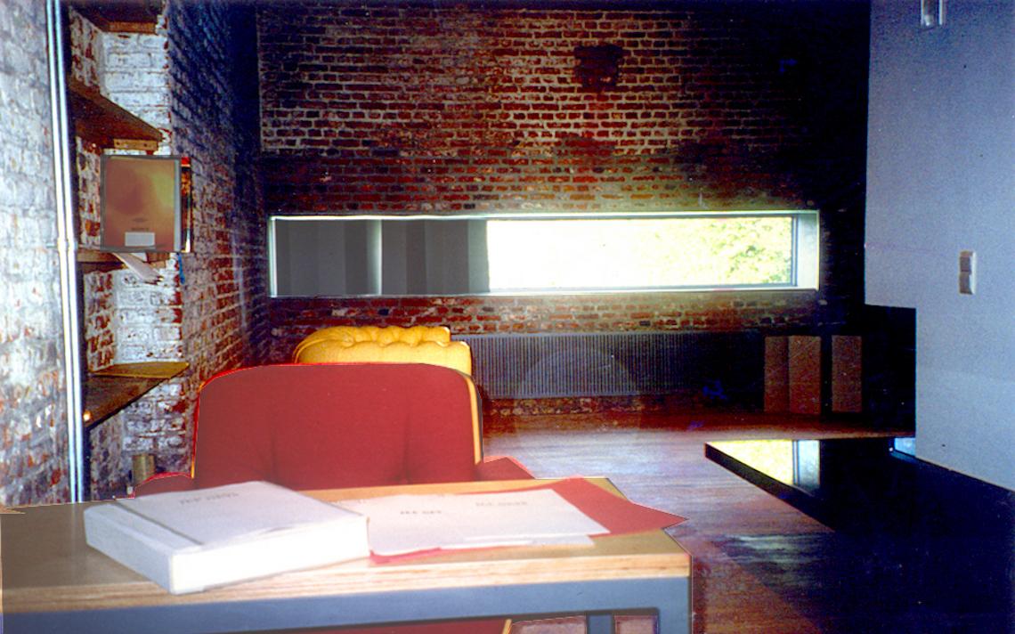 oude baksteen kantoor lintvenster architect