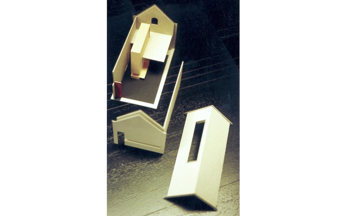 Rekem loft verbouwing maquette