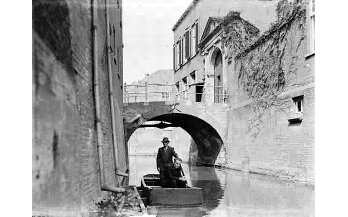 135-binnendieze poort en brug ca 1910
